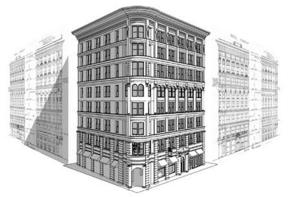 Local architecture firm CREO is renovating the Commerce Building to include retail and office space, slated to be completed in 2019, according to the firm's website.