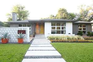 This mid-century, retro style Texas home listed at $750,000 offers a little taste of Palm Springs in the Lone Star State.