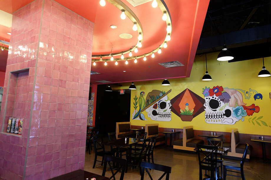 The dining room at Amacate Tortilla Bar in Beaumont.   Photo taken Friday 6/8/18  Ryan Pelham/The Enterprise Photo: Ryan Pelham, The Enterprise / ©2018 The Beaumont Enterprise