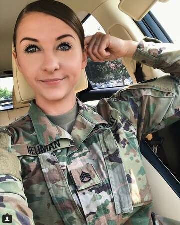 San Antonio Instagram Star Juggles Fitness Fashion And Army Duty Expressnews Com Women are tired of how women are still getting deprioritized, and have lost patience. that soldier, army specialist aaron robinson, killed himself with a pistol as police approached him this month. san antonio instagram star juggles