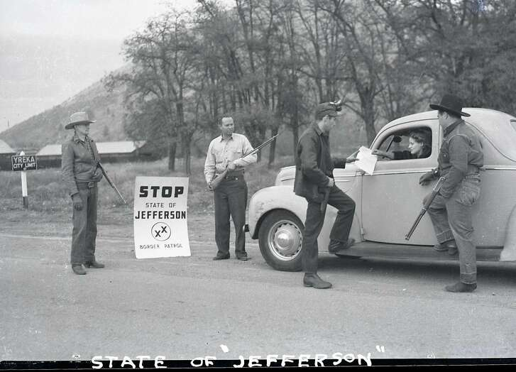 """""""State of Jefferson"""" in 1941"""