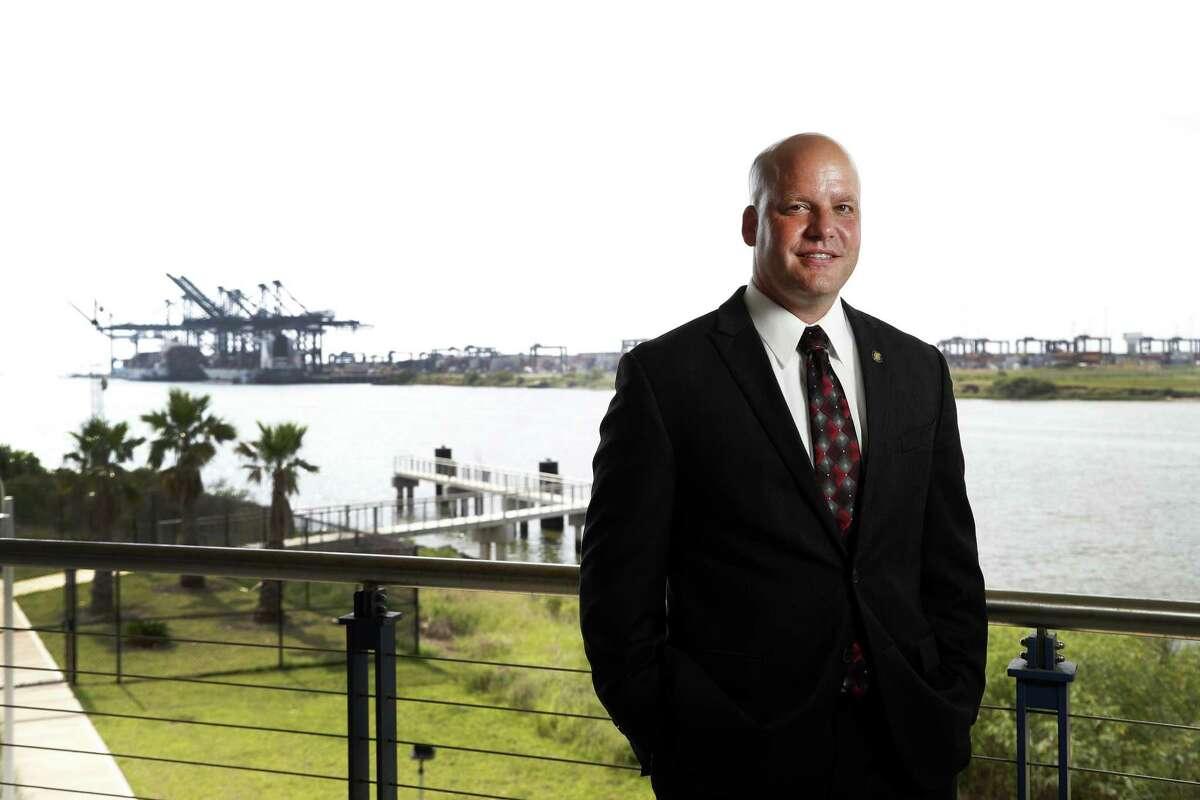 John Stauffer with the San Jacinto College Maritime Technology and Training Center on Monday, June 4, 2018, in La Porte. ( Karen Warren / Houston Chronicle )