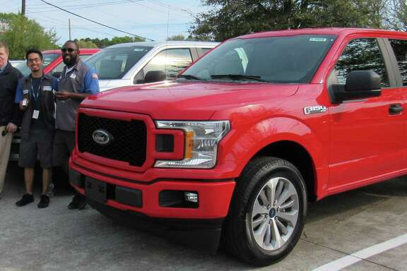 The Friendswood Chamber of Commerce is raffling a new F-150 Ford pickup as its major fundraiser of the year.