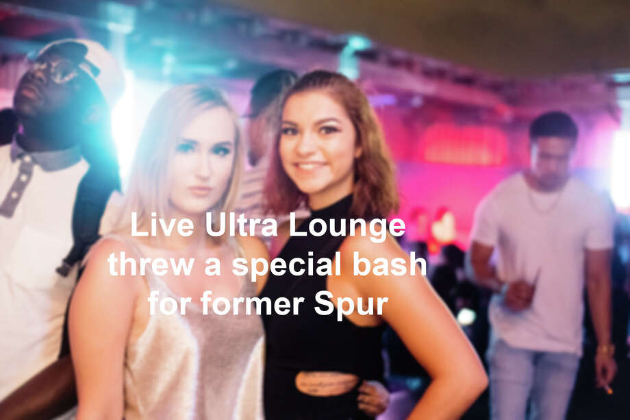 Live Ultra Lounge hosted a special party Friday night, June 23, 2017, for former Spur George Hill that included various DJs and other NBA guests.