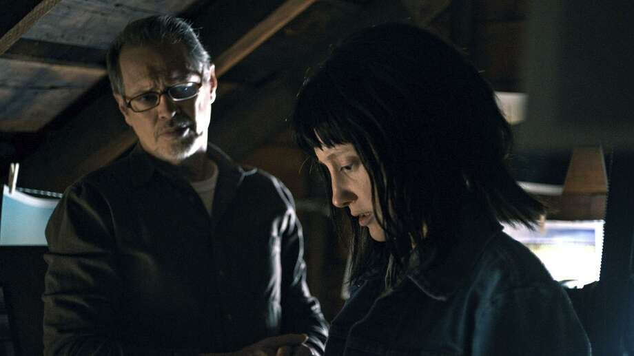 "Andrea Riseborough as ""Nancy,"" who looks a lot like the long-missing daughter of Steve Buscemi. Photo: Samuel Goldwyn"