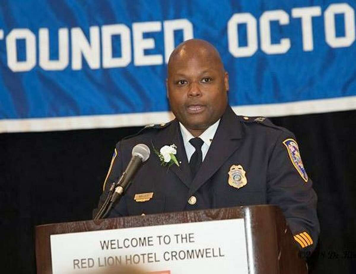 Middletown Police Capt. Gary M. Wallace is this year's recipient of the Middlesex County Chamber of Commerce Michael L. Green Award.