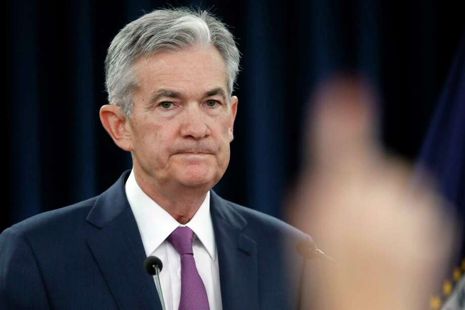 Federal Reserve Chair Jerome Powell speaks during a news conference after the Federal Open Market Committee meeting, Wednesday, June 13, 2018, in Washington. The Federal Reserve is raising its benchmark interest rate for the second time this year and signaling that it may step up its pace of rate increases because of solid economic growth and rising inflation. (AP Photo/Jacquelyn Martin) Photo: Jacquelyn Martin / Copyright 2018 The Associated Press. All rights reserved.