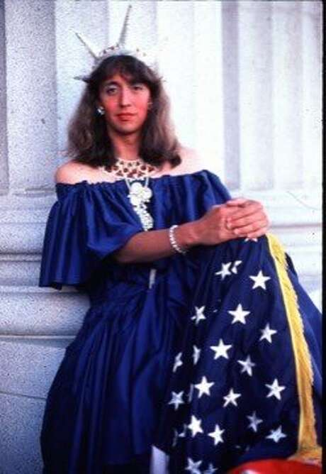 "Gilbert Baker as ""Miss Liberty."" Photo: Estate Of Gilbert Baker"