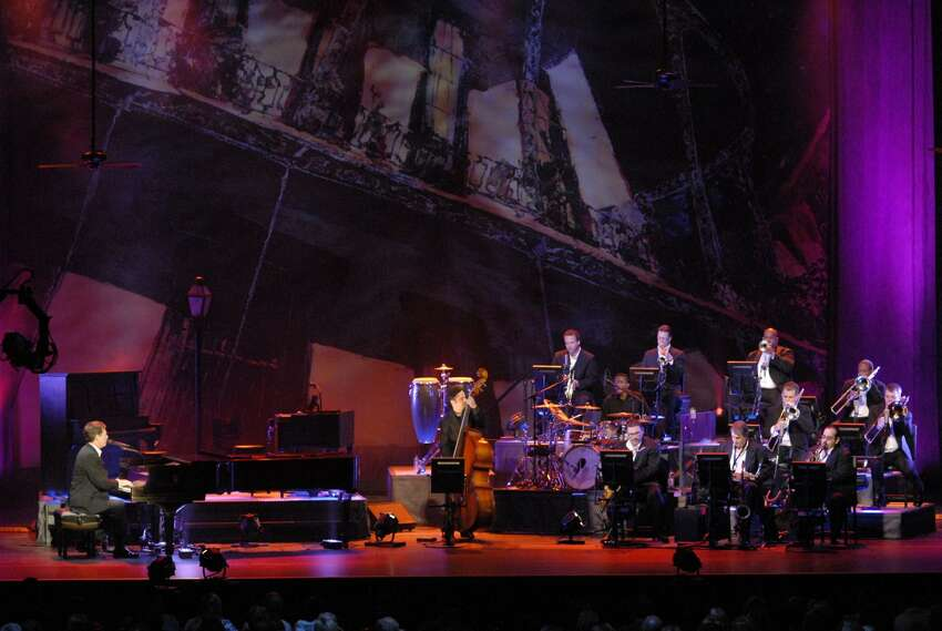Harry Connick Jr. and his band (image from harryconnickjr.com)