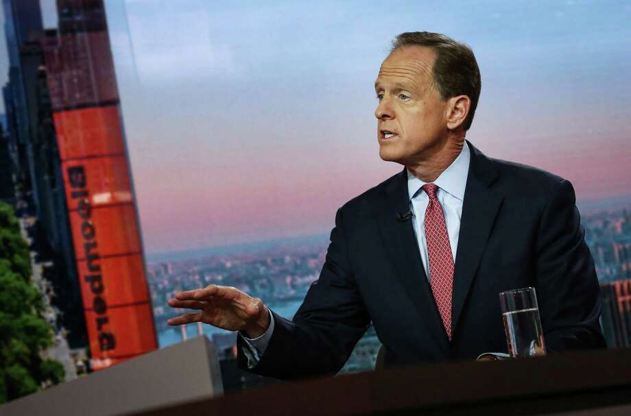 """Sen. Patrick Toomey, R-Pa., said Thursday that a vote against his proposal """"is really a vote to shirk our own responsibility."""" Photo: Bloomberg Photo By Christopher Goodney / © 2017 Bloomberg Finance LP"""
