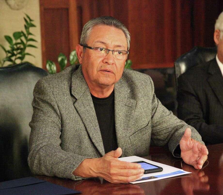 Roberto Zárate, incumbent Alamo Colleges trustee. Photo: Juanito M Garza /San Antonio Express-News / San Antonio Express-News