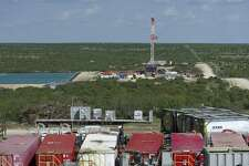 A hydraulic fracturing operation in the Permian Basin.