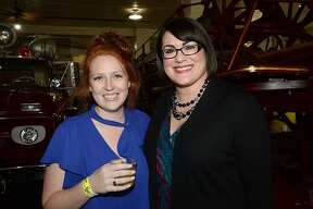 Sarah Garza and Jennifer Pate were at the Heritage Happy Hour held at the Beaumont Fire Department Museum.   Thursday, June 14, 2018  Kim Brent/The Enterprise