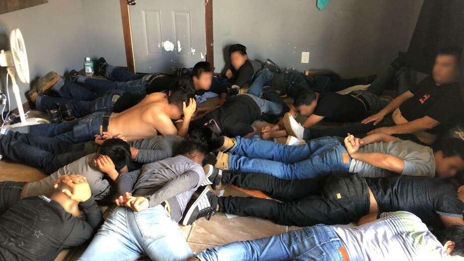 Laredo Sector Border Patrol agents in coordination with the Webb County Sheriff's office discovered 62 undocumented immigrants in a stash house in Laredo this week.