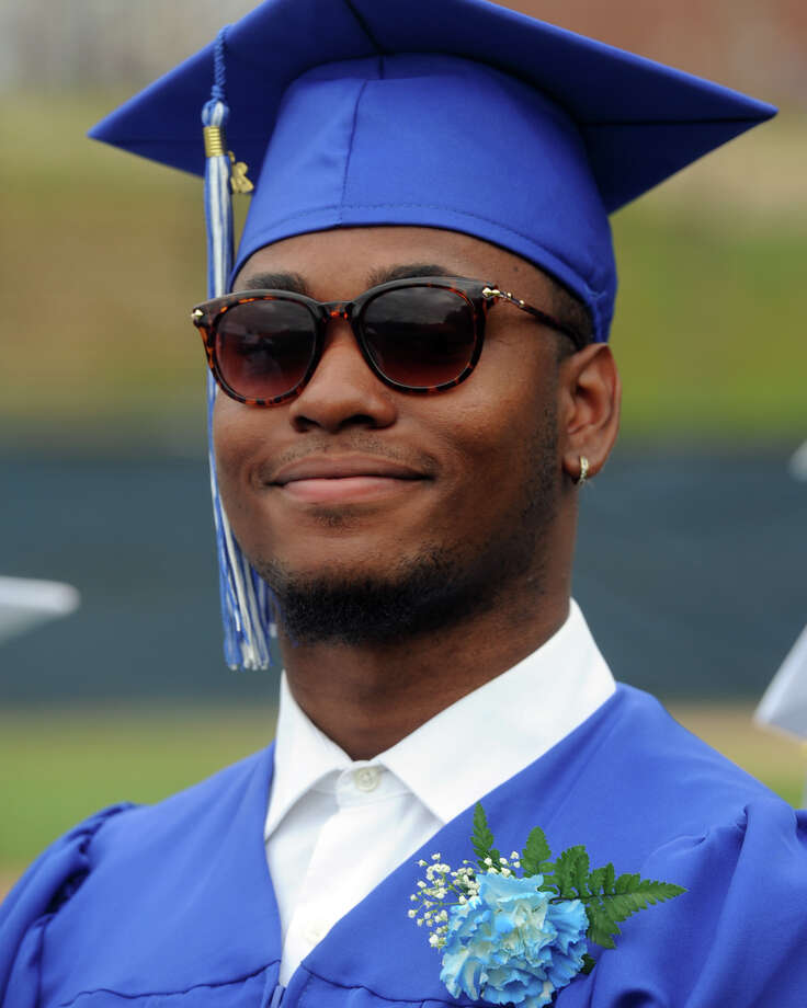 Graduation for the Frank Scott Bunnell High School Class of 2018, in Stratford, Conn. June 14, 2018. Photo: Ned Gerard, Hearst Connecticut Media / Connecticut Post
