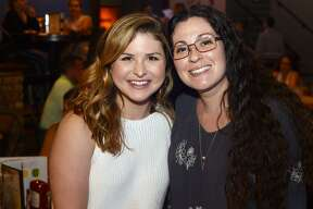 Emily Trevino and Nicole Snure at the Beaumont Children Museum's Science of Mixology adult takeover event at Madison's.   Photo taken Thursday 6/14/18  Ryan Pelham/The Enterprise