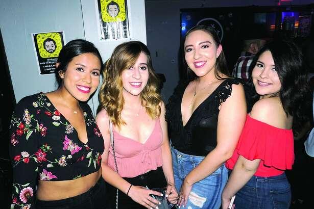Amanda Nunez, Ashley Espinoza, Carolina Ersoy and Sarah Smith at The Happy Hour Downtown Bar   Friday, June 15, 2018
