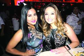 Carolina Machado and Kristina Valenciano at Cosmos Bar & Grill   Friday, June 15, 2018