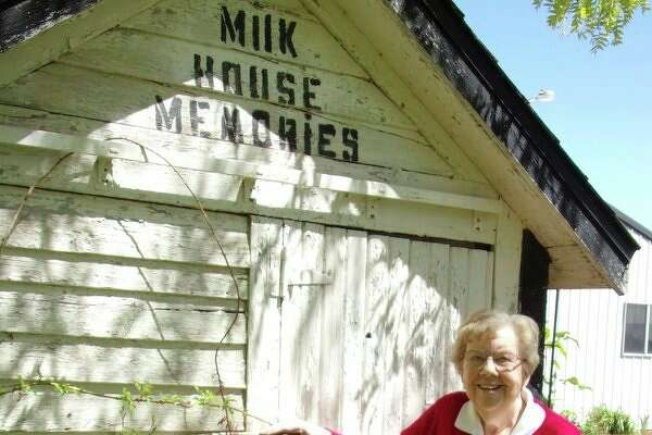 Phyllis and and her late husband, Mervin Snider, have not farmed the land in years, yet this memento of days gone by still remains in the backyard of the family home near Elkton. (Rich Harp/For the Tribune)