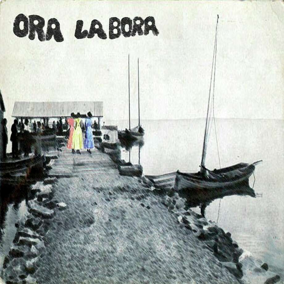 Ora Labora's self-titled debut album cover. The scene is from the late 1800s in Bay Port. (Submitted Photo)
