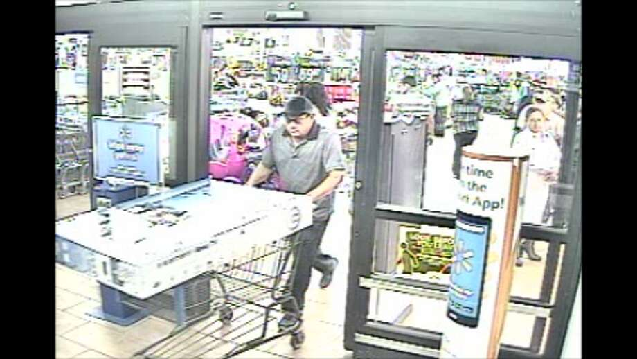 Laredo police said this man stole a 50-inch Roku Television from a local Walmart. The TV had an estimated value of $368. Photo: Courtesy Laredo Police Department