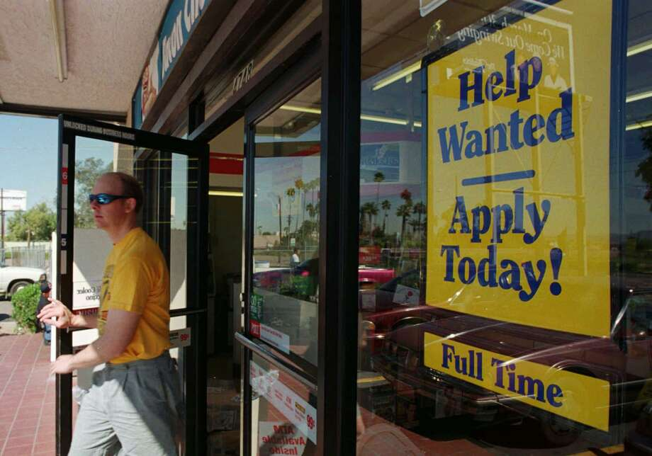 The unemployment rate in Texas remained at a record low of 3.4 percent in August.  Photo: SCOTT TROYANOS, STR / AP / AP