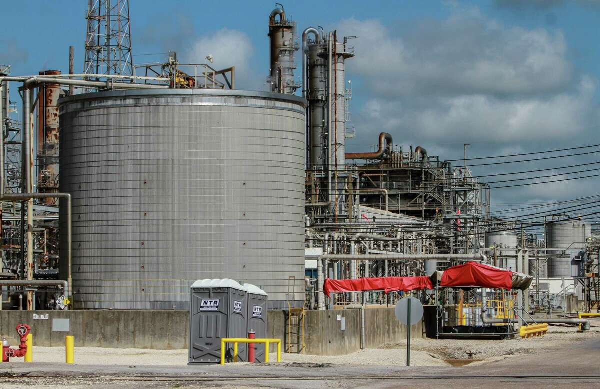The Ascend Performance Materials Chocolate Bayou Plant in Alvin, Texas.