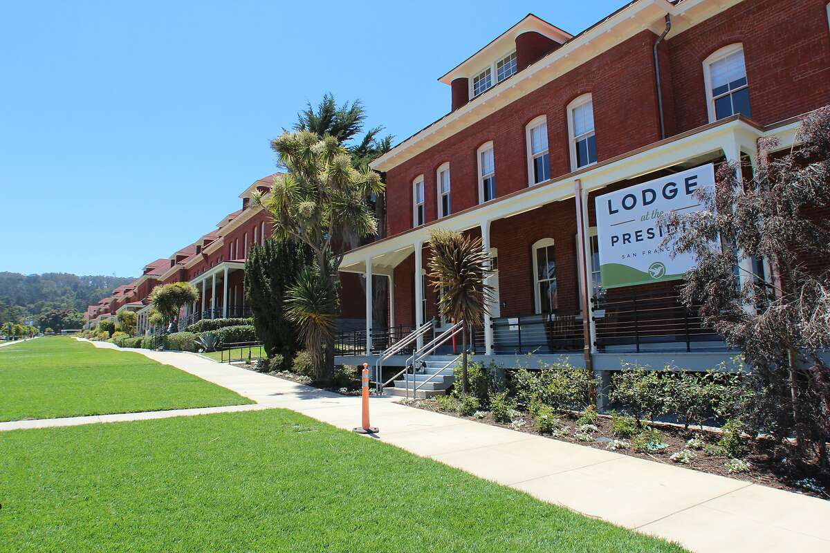 The Lodge at the Presidio is the second hotel on the former base. The Inn at the Presidio opened in 2012 in a former officers' quarters.