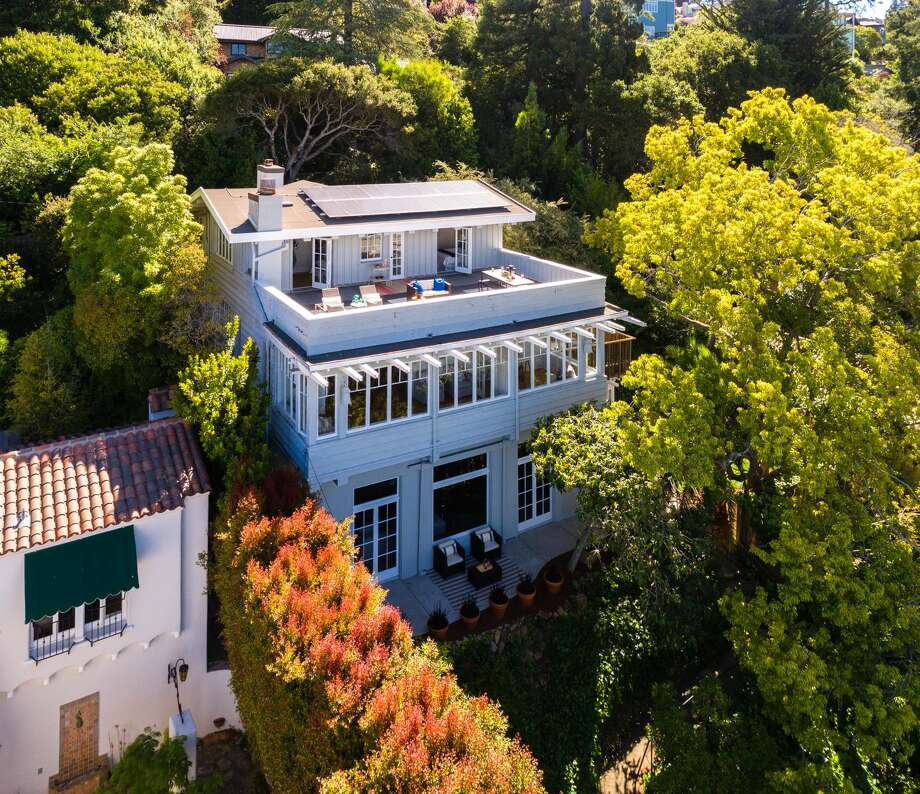 A grand 1916 home at 103 Alvarado in Berkeley has been in the same family for over 50 years and is listed for $1.895 million. Photo:  Peter Lyons Photography