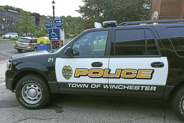 A Winchester Police Department car.