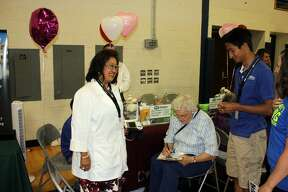 The Huron County Senior Fair was a big hit Friday at Bad Axe High School. Service and healthcare organizations were among those offering freebies and/or gifts.