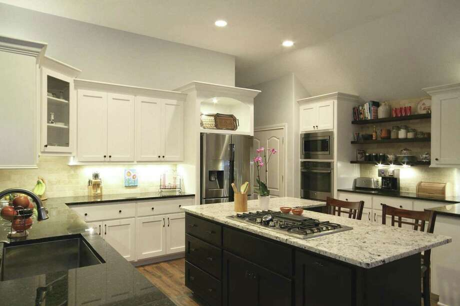 The remodeled kitchen offers a better layout, plus more space and storage.