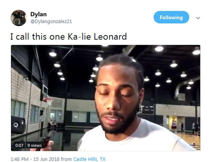 @Dylangonzalez21: I call this one Ka-lie Leonard