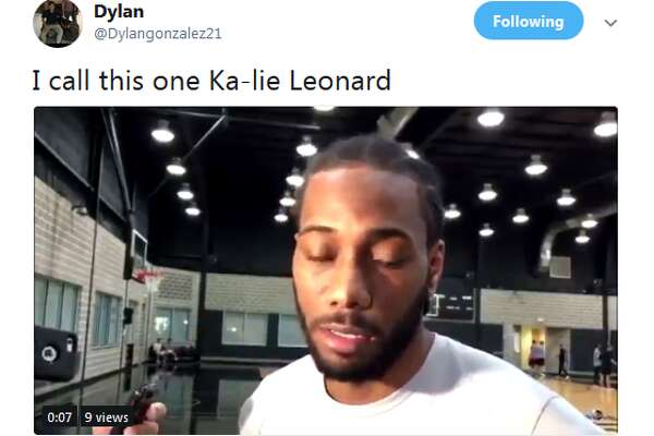 @Dylangonzalez21: I call this one Ka-lie Leonard