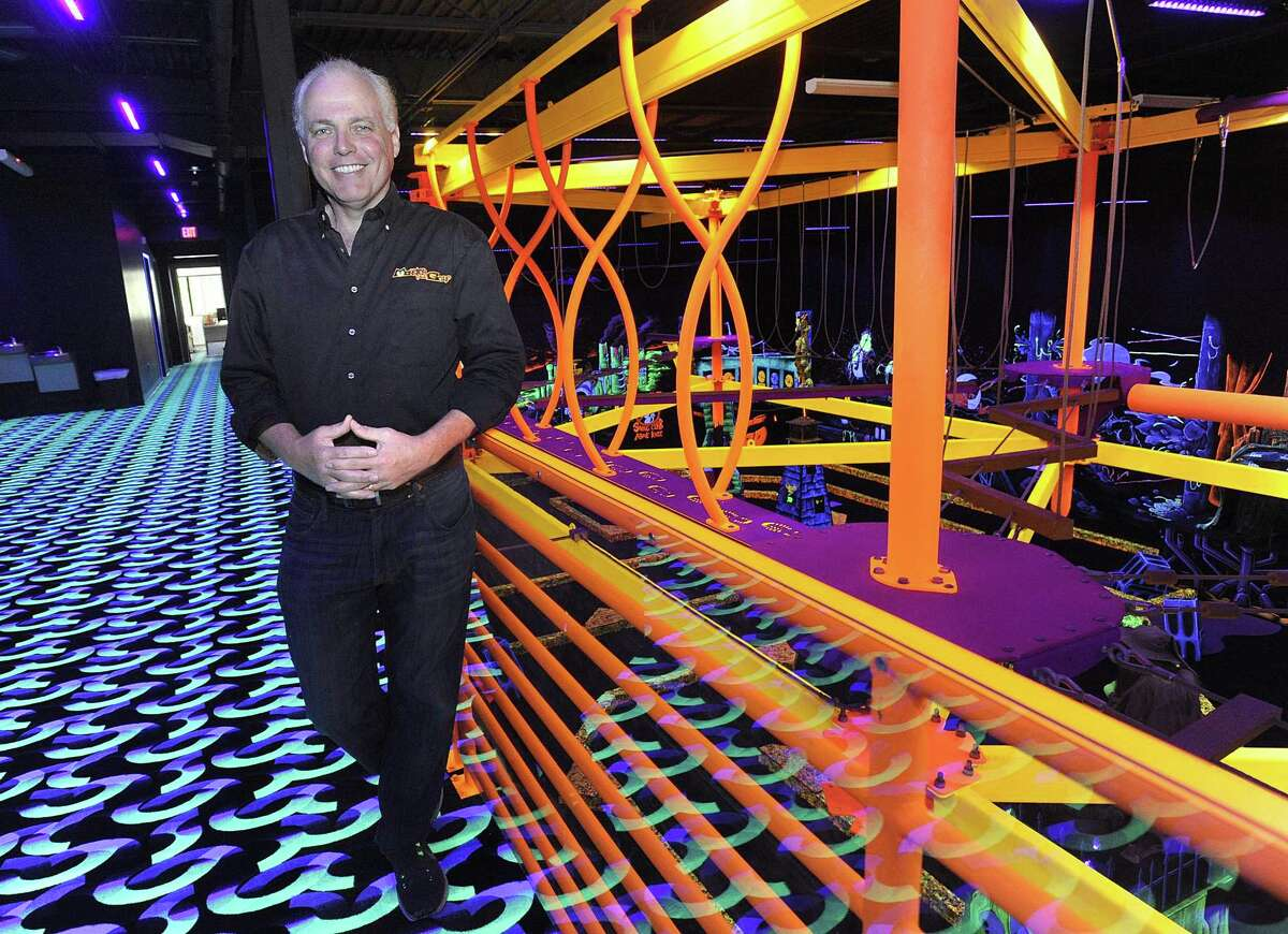 Mark Barra, owner of Monster Mini Golf, has moved his business from Danbury to its new location on Stony Hill Road in Bethel. Photo Friday, June 15, 2018.