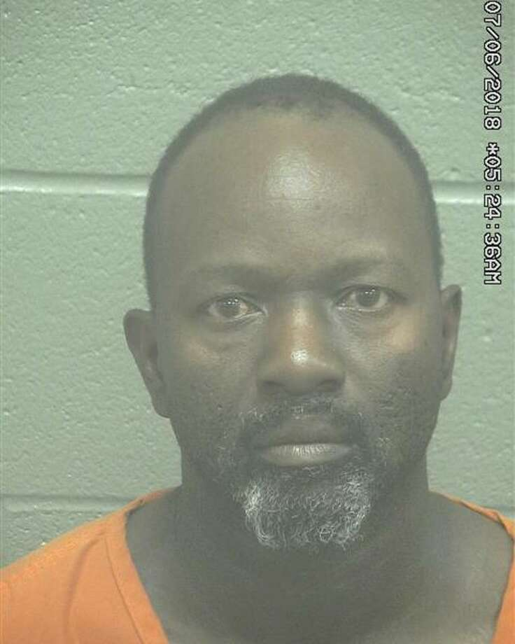 Claydell Oneal Caston, 44, was arrested June 6 after allegedly assaulting a woman, according to court documents.   Photo: Midland County Sheriff's Office