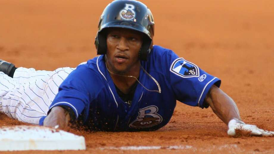 The Tecolotes signed outfielder Johnny Davis to take over as the team's leadoff hitter for 2018's second season after likely losing Jeremias Pineda for the remainder of the year. Davis stole 52 bases for the Brewers' Double-A team Biloxi in 2017. Photo: Courtesy Of The Tecolotes Dos Laredos, File