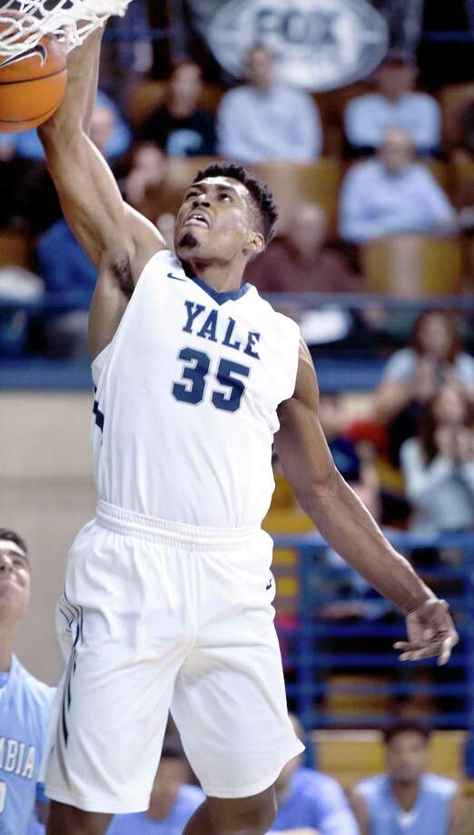 Former Yale standout Brandon Sherrod has signed on to return to play for Roseto of Italy's Serie A2 league next season. Photo: Arnold Gold / Hearst Connecticut Media File Photo
