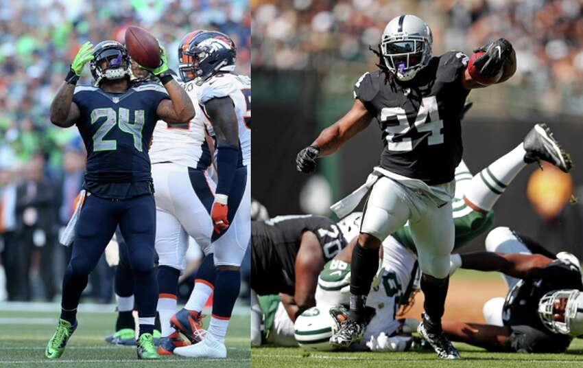 Marshawn Lynch: With the Oakland Raiders After briefly retiring following the 2015 season, Lynch returned to the NFL in 2017 to join his hometown Oakland Raiders. Beast Mode ran for 891 yards and seven touchdowns in his first season with the Raiders, and is set to be the team's lead back again in 2018.