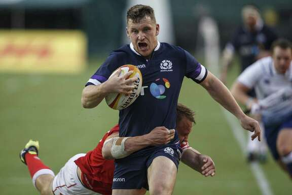 Fresh off a 48-10 victory over Canada, Mark Bennett and his Scottish teammates take on the U.S. national rugby team Saturday night at BBVA Compass Stadium.