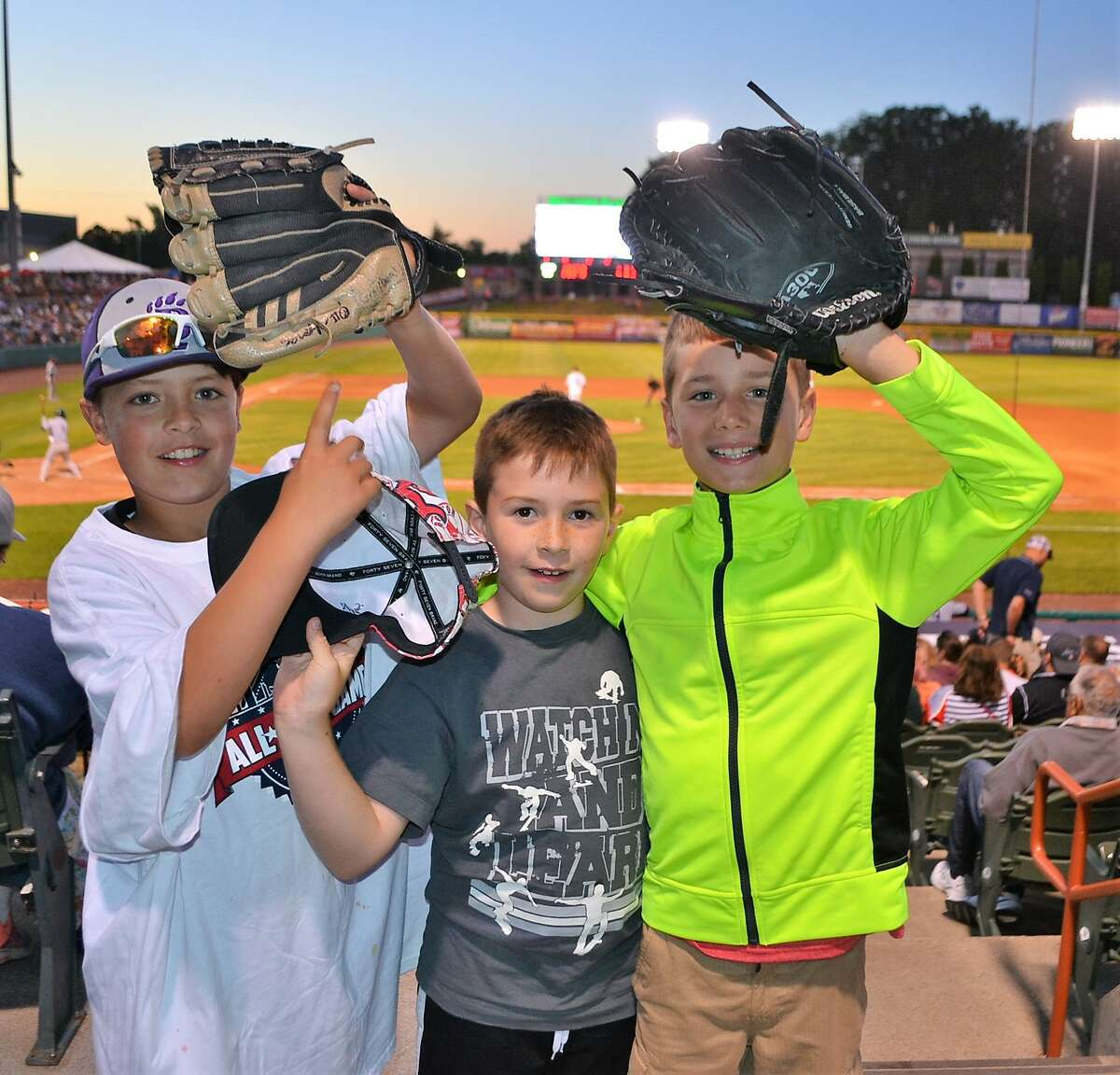 Were you Seen at Bruno Stadium for the Tri City ValleyCats' first game of the 2018 season on June 15, 2018?