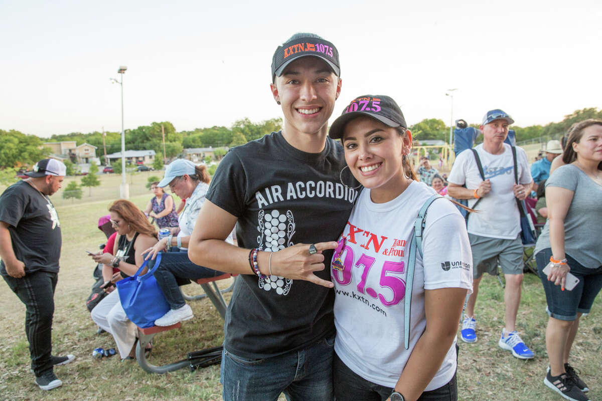 Tejano fans from all over Texas were at Rosedale Park Friday June 15, 2018; for KXTN's 30th Anniversary.