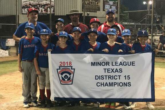 The Pearland Rangers recently won the District 15 minor league championship.