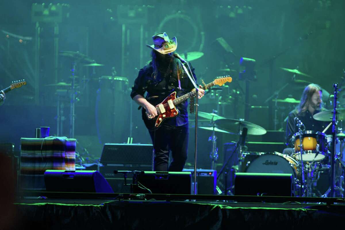 Chris Stapleton performs at Minute Maid Park in Downtown Houston on Friday June 15, 2018