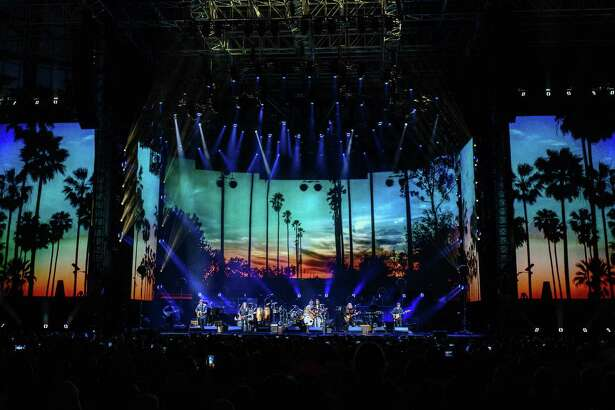 The Eagles perform at Minute Maid Park in Downtown Houston on Friday June 15, 2018