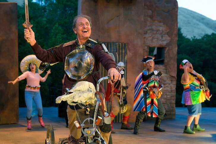 ":� Emilio Delgado� as Quijano /Quixote) om Cal Shakes' ""Nuevo Quixote"""