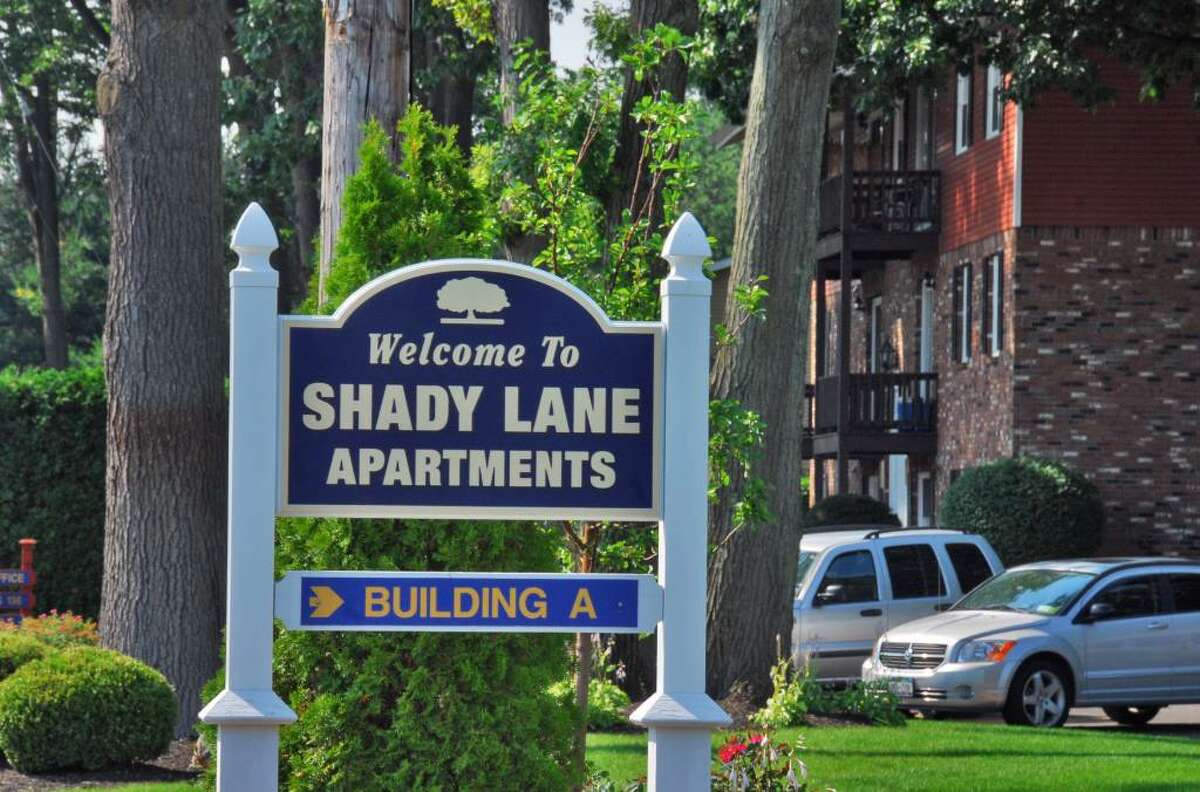 The operator and rental agent of Shady Lane Apartments at 123 Saratoga Road in Glenville are targets of a rental bias lawsuit filed by Attorney General Andrew Cuomo in U.S. District Court in Albany. (John Carl D'Annibale / Times Union)