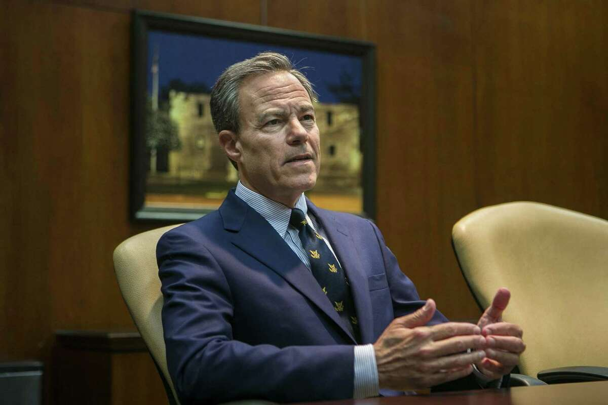 Texas House Speaker Joe Straus, R-San Antonio, criticized President Donald Trump's comments on Russian interference in the 2016 election Monday.
