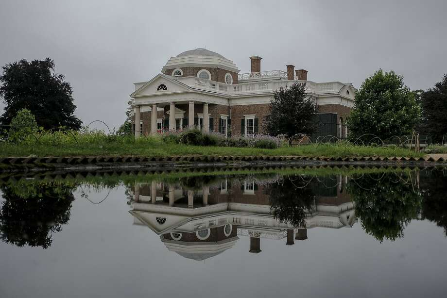 Monticello, Thomas Jefferson's home in Charlottesville, Va., June 11, 2018. The public opening here of a new room and exhibit dedicated to Sally Hemings deals a final blow to two centuries of ignoring Jefferson's four-decade relationship with one of his slaves. (Gabriella Demczuk/The New York Times) Photo: GABRIELLA DEMCZUK, NYT