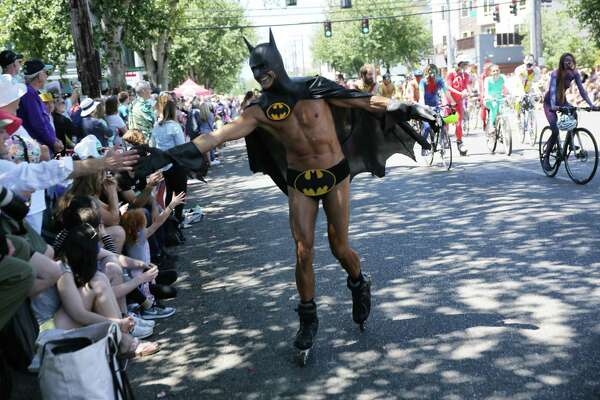 Scenes from the 30th annual Fremont Solstice Festival, June 16, 2018.